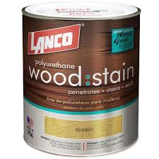 lanco 1 qt gold interior wood stain ws665 5 the home depot