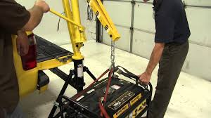 review of the maxx tow hitch crane etrailer com youtube