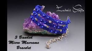 bracelet tutorials youtube images 3 band micro macrame bracelet jpg