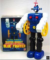 Seeking Robot Date Bandai Blue Fighter Looking For Robot Japan
