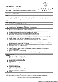 Front Desk Job Description For Resume by Front Desk Manager Resume Free Resume Example And Writing Download