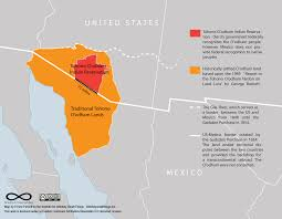 Border Map Of Usa by U S Mexico Border Wreaks Havoc On Lives Of An Indigenous Desert