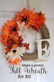thanksgiving wreaths to make easy fall wreath wreaths easy fall wreaths and fall decor