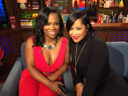 kandi burruss hairstyles 2015 wwhl with kandi burruss and lisa wu