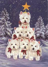 west highland terrier westie family tree gf precious pet paintings