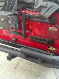 homemade jeep bumper simple flag holder for your jeep l brackets and pvc pipe jeep