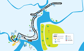Mapping Running Routes by Latest Race Routes Revision For Standard Chartered Marathon