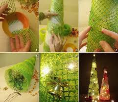 creative christmas tree lights 11 creative christmas tree making ideas