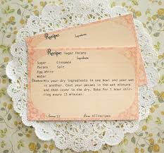 vintage cards free printable recipe cards call me