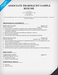 Data Entry Responsibilities Resume Resume Sample Associate Pharmacist Http Resumecompanion Com