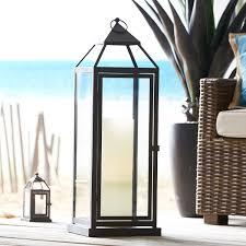 landen extra large black metal lantern patios condos and room