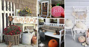 outdoor decor 20 incredible fall outdoor decor ideas getting the home season ready