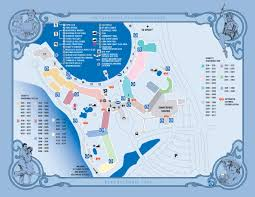 Walt Disney World Resorts Map by Disney U0027s Boardwalk Inn