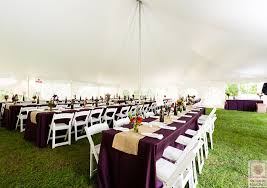 linen rental companies a beautiful backyard tent wedding from a classic party rental a