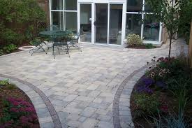 Basic Backyard Landscaping Ideas by Brick Patio Designs For Relaxing Backyard Landscaping Outdoor