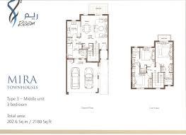 floor plan photos download mira floorplans by emaar