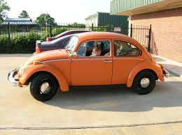 orange volkswagen beetle thesamba com reader u0027s rides view topic orange bugs please
