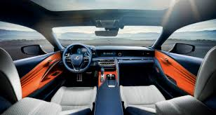 white lexus red interior the lexus lc u0027s blue paint took 15 years to develop the drive