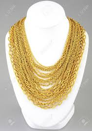 free gold necklace images A lot of valuable gold necklaces stock photo picture and royalty jpg