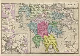 A Map Of Ancient Greece by Outline Of Greek History From 500 300 Bc