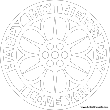 don u0027t eat the paste mother u0027s day mandala coloring page and frame