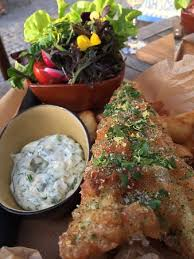 cuisine et tradition fish and chips traditional et sa salade en sup picture of o