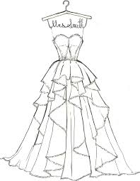 innovative dress coloring pages 73 6867