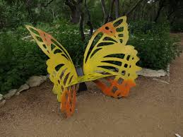 butterfly garden bench bench decoration