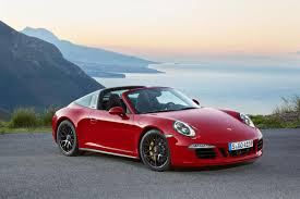 porsche matte red porsche unveils 911 targa 4 gts and cayenne turbo s at naias w