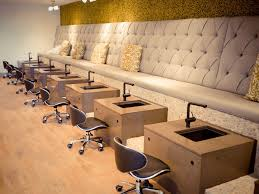 Waiting Benches Salon Terés Scottsdale Grand Opening Cheap U0026 Chic Nail Salon