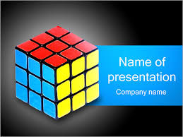colored cube powerpoint template u0026 backgrounds id 0000001916