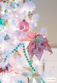 ornaments for tree preppy pink green tree