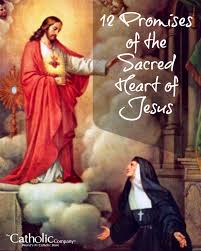 the 12 promises of the sacred heart of jesus catholic company