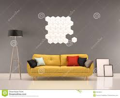 Yellow Livingroom by Gray And Yellow Living Room Royalty Free Stock Image Image 30926656