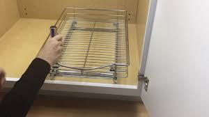 Under Cabinet Sliding Shelves Lynk Professional Wide Roll Out 11 Inch Under Cabinet Sliding