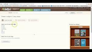 Bookshelf Website Creating A Free Virtual Bookshelf In Shelfari Youtube