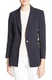 womens pinstripe jacket nordstrom