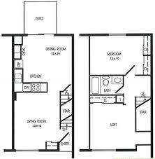 Floor Plans Of Arbor Pointe Townhomes In Battle Creek MI - One bedroom townhome