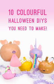 Fun Halloween Decoration Ideas Colourful Diy Halloween Decorations For Bright Bold Modern Party