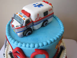 ambulance cake topper fondant handmade edible ambulance cake