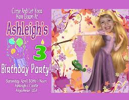 Barbie Birthday Invitation Cards Rapunzel Birthday Invitations Plumegiant Com