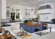 kitchens with different colored islands 25 colorful kitchen island ideas to enliven your home