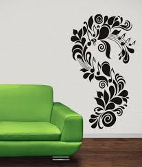 Wwe Wall Stickers Destudio Music Floral Wall Art Stickers And Wall Decal Buy
