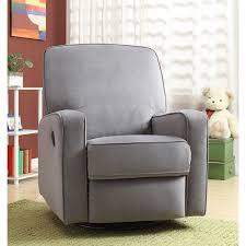 furniture amusing swivel glider recliner chair and sutton grey