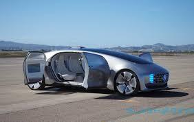 mercedes autonomous car mercedes autonomous path sees cars cabs and trucks converging