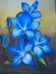 blue lilies blue lilies by zebais on deviantart