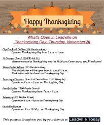 news november 25 leadville today