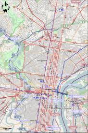 Patco Map Philadelphia 1963