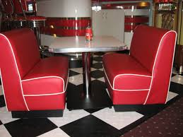 kitchen attractive restaurant banquette seating plus booth