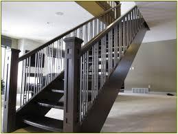 Modern Banister Best Ideas Glass Stair Railing Translatorbox Stair